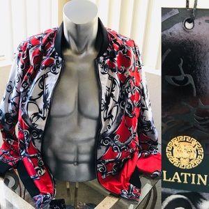 NWT Platini Men's STATUS Italian Print BOM…